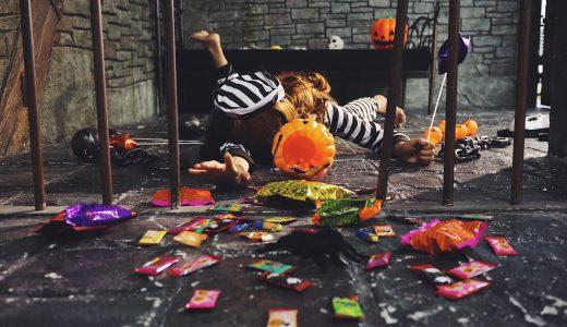 ハロウィンコスプレとゴミ問題