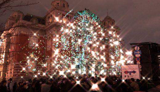 大阪市中央公会堂ウォールタペストリー2018☆平成30年間の思いとメリークリスマス