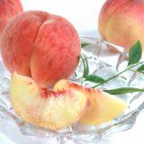 桃の皮を上手く向いて綺麗にカットして盛り付けたい!切り方